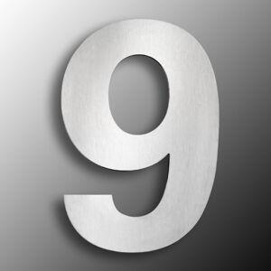 CMD Domovní čísla z ušlechtilé oceli velikost 9