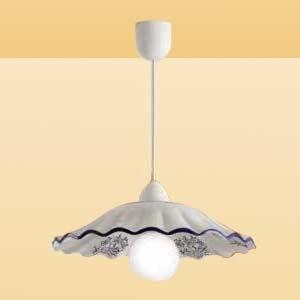 Ceramiche Závěsné světlo CELESTINA s romantickým půvabem