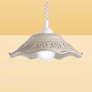 Ceramiche Rustikální závěsné světlo FRANCA