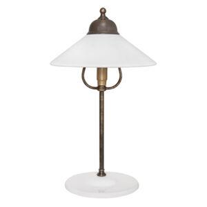 Ceramiche Stolní lampa Ike, mosaz