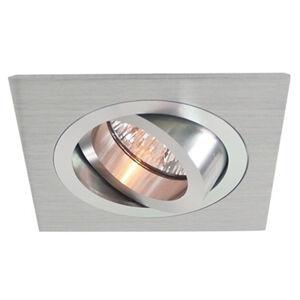 Deko-Light Hliníkové podhledové svítidlo výklopné, 9,2x9,2 cm
