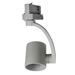 BIOleDEX Reflektor Tres pro 3fázovou kolejnici, E27 šedá