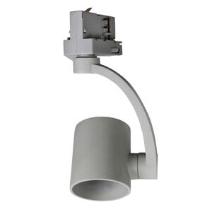 BIOleDEX Reflektor Tres pro 3fázovou kolejnici, GU10 šedá