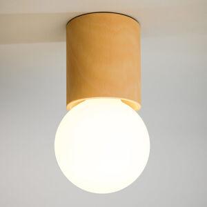 Domus Stropní světlo Tondolo, bukové dřevo