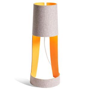 Domus Stolní lampa Mia šedá/oranžová