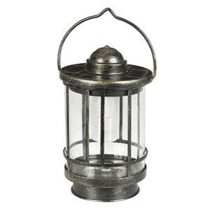 Duracell Dekorační stolní lampa LED Finlay stínidlo sklo