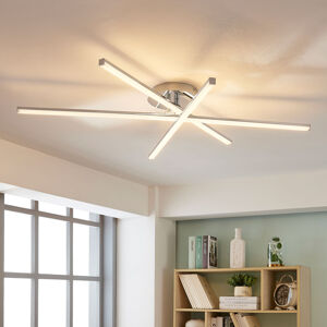 Lindby 3bodová stropní LED lampa Korona, stmívač