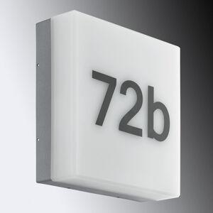 Osvětlení čísla domů