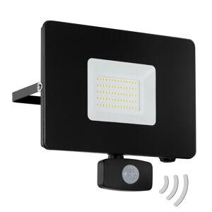 EGLO Faedo 3 LED venkovní reflektor, senzor, černá, 50W
