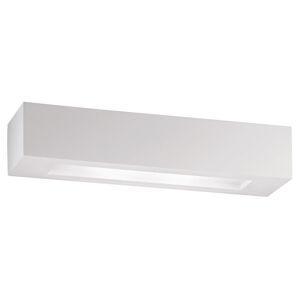Eco-Light Nástěnné svítidlo Candida ze sádry, bílé
