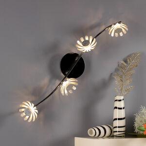 Eco-Light LED stropní svítidlo Bloom 4 zdroje stříbrná
