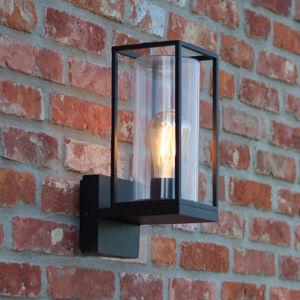 Eco-Light Venkovní nástěnné svítidlo Flair, stínidlo nahoře