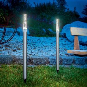 Esotec Solární designové světelné tyče v sadě po 2 kusech