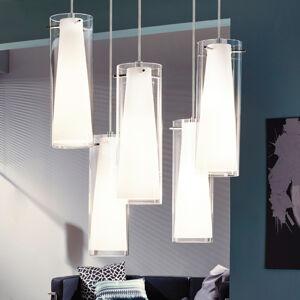 EGLO Závěsné světlo Pinto s 5 žárovk.