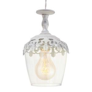 EGLO Florinia závěsné světlo s bílou patinou