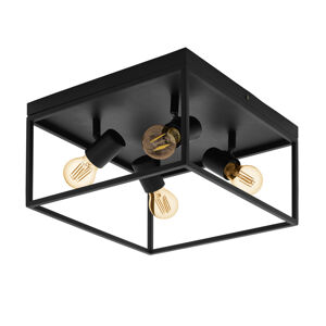 EGLO Silentina stropní světlo, čtyři zdroje, 36 x 36 cm