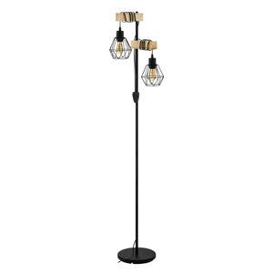 EGLO Townshend 5 stropní světlo s 2 klecovými stínidly