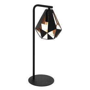 EGLO Carlton 4 stolní lampa černá/měď