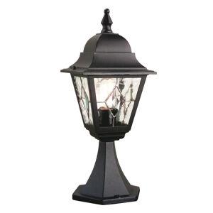 Elstead Soklové světlo Norfolk, zasklení v olovu