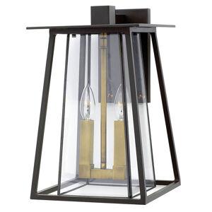 HINKLEY Čistě strukturované nástěnné světlo Walker
