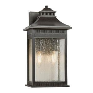 QUOIZEL Venkovní nástěnné světlo Livingston medium, 35,6cm