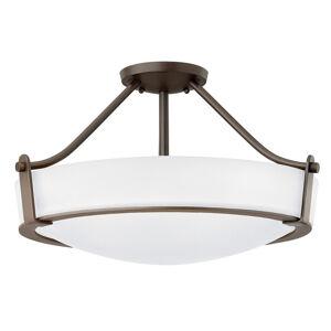 HINKLEY Stropní světlo Hathaway distanční, bronz Ø 53 cm