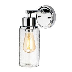 Elstead Nástěnné světlo Morvah do koupelny, chrom leštěný