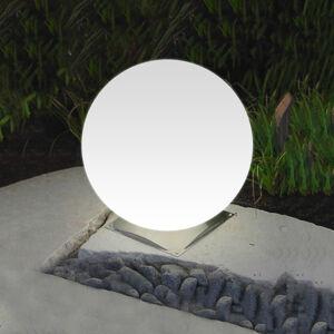 Epstein Ideální kulové světlo Snowball bílé noha nerez 40