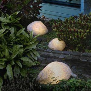 Epstein Svítící kameny s gumovou přípojkou žula 40 cm