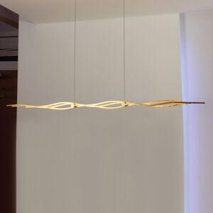 Escale Escale Silk - závěsné světlo LED pozlátko 157cm