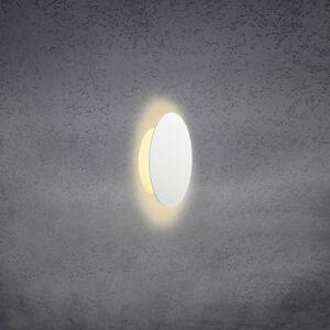 Escale Escale Blade LED nástěnné světlo bílá matná Ø 18cm