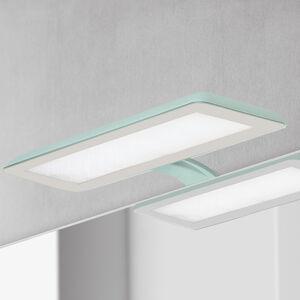Ebir LED osvětlení zrcadla Nikita, akvamarín/šedá