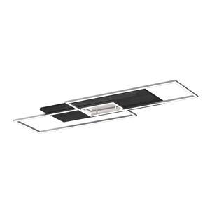 Elobra LED stropní světlo Panama XL, dub černý