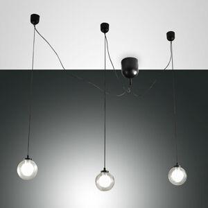 Fabas Luce LED závěsné světlo Blog, 3 zdroje