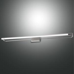 Fabas Luce LED nástěnné světlo Rapallo, chrom, IP44, 80 cm