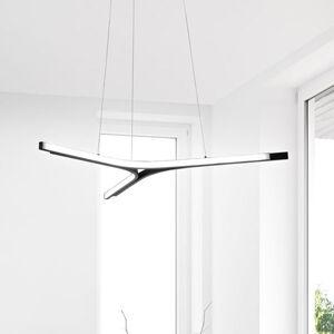 Fabas Luce LED závěsné světlo Lira, stmívatelné, černá