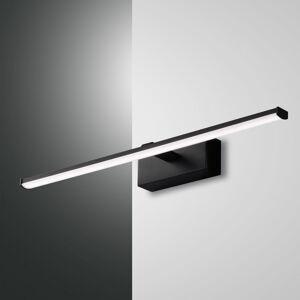 Fabas Luce LED nástěnné světlo Nala, černé, šířka 50 cm