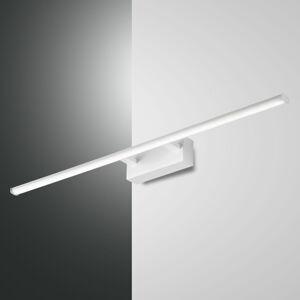 Fabas Luce LED nástěnné světlo Nala, bílé, šířka 75 cm