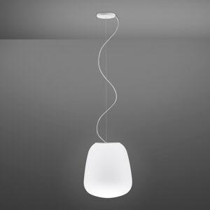 Fabbian Fabbian Lumi Baka skleněné závěsné světlo, Ø 33 cm