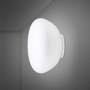 Fabbian Fabbian Lumi Poga skleněné nástěnné světlo, Ø 42cm