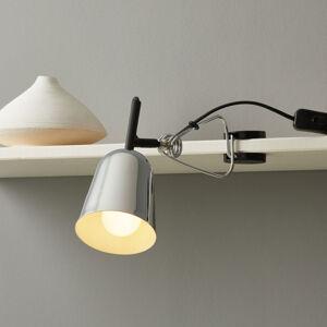 FARO BARCELONA Světlo se svorkou Studio, chromované