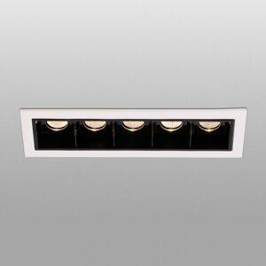 FARO BARCELONA LED vestavěné světlo Troop s rámem, 5 zdrojů