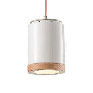 Ferro Luce Závěsné světlo C988 skandinávský styl bílé