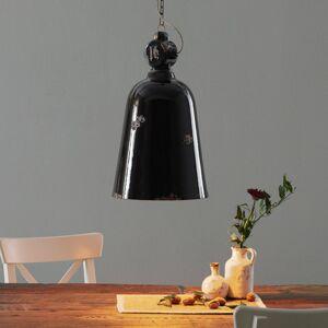 Ferro Luce Vintage závěsné světlo C1745, kónus, černá