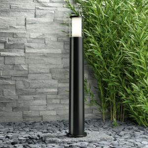 Fumagalli Černé LED svítidlo pro osvětlení cest Carlo