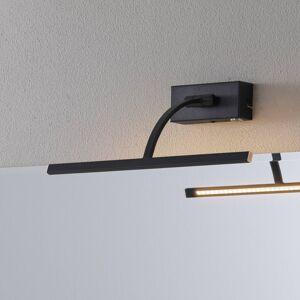 Freelight LED nástěnné světlo Matisse, šířka 34 cm, černá