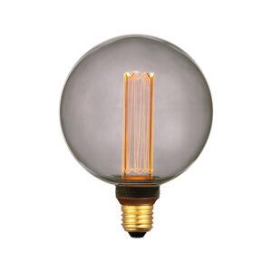 Freelight LED globe E27 5W, teplá bílá, 3-step-dim kouřová