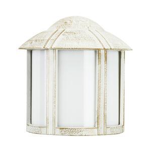 Albert Leuchten Masivní Affra venkovní nástěnné světlo bílo-zlatá