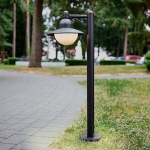 Albert Leuchten V černé barvě - osvětlení cesty Yarai