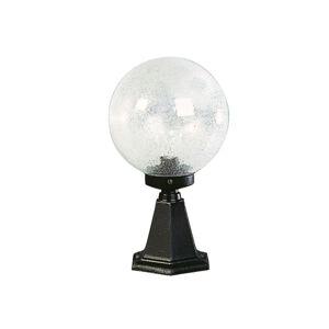 Albert Leuchten Soklové světlo černé, s foukaným sklem